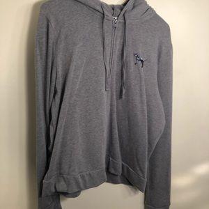 Victoria's Secret PINK Grey Sweatshirt with Sequin